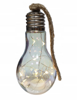ŻARÓWKA LAMPKA dekoracyjna LED LEDOWA WISZĄCA