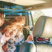 Uchwyt na zagłówek Baseus Backseat dla tabletów i smartfonów (srebrny) zdjęcie 4