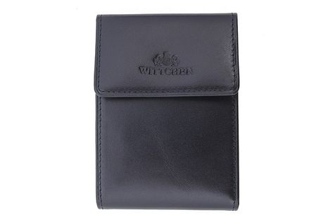 Etui na karty kredytowe Wittchen, kolekcja Italy, kolor czarny