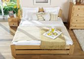 łóżko 120x200 LIDIA ze stelażem OLCHA