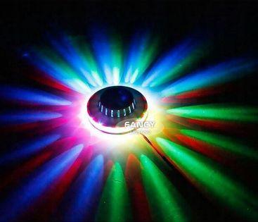 Projektor led UFO z funkcją luminofonii