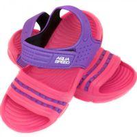 Klapki basenowe dla dzieci Aqua-speed Noli różowo fioletowe kol.39 24