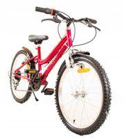 Rower Rowerek Dziecięcy 6 biegów Dla Dziecka +5Lat Dla Dziewczynki