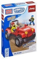 Mega Bloks World Builders Jeep 123pcs