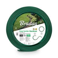 Obrzeże trawnikowe 10m + kotwy, zielone ( 0919 )