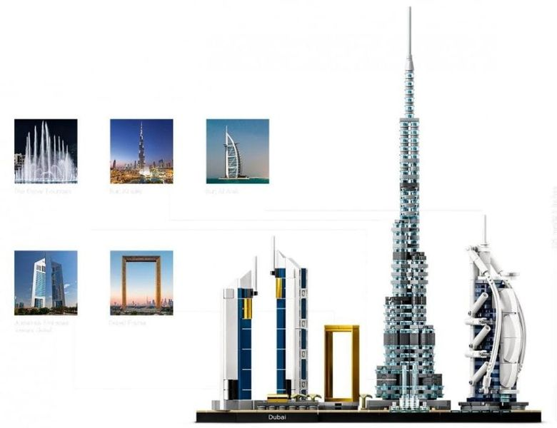 Lego Architecture Dubaj na Arena.pl