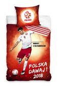 Pościel 160x200 Reprezentacja Polski Polska Piłka Nożna Lewandowski