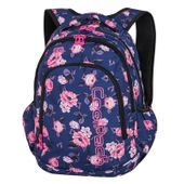 43626bc6926e1 Plecak CoolPack STRIKE granatowy w pastelowe róże, ROSE GARDEN + ...