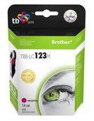 Tusz TB Print do Brother LC123 Magenta TBB-LC123M