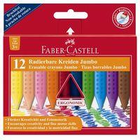 Kredki świecowe trój FABER-CASTELL Jumbo Grip 12 k