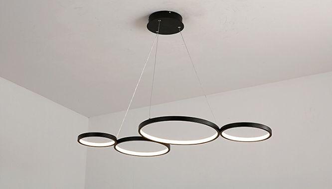 Lampa NOEMI sufit ring okrąg żyrandol 97cm LED nowoczesny