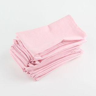 Serwetki - Bawełniane - Zestaw 12 Szt Różowy