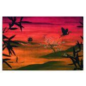 Obraz na płótnie - Canvas, Krajobraz Japonii 120x80 zdjęcie 1