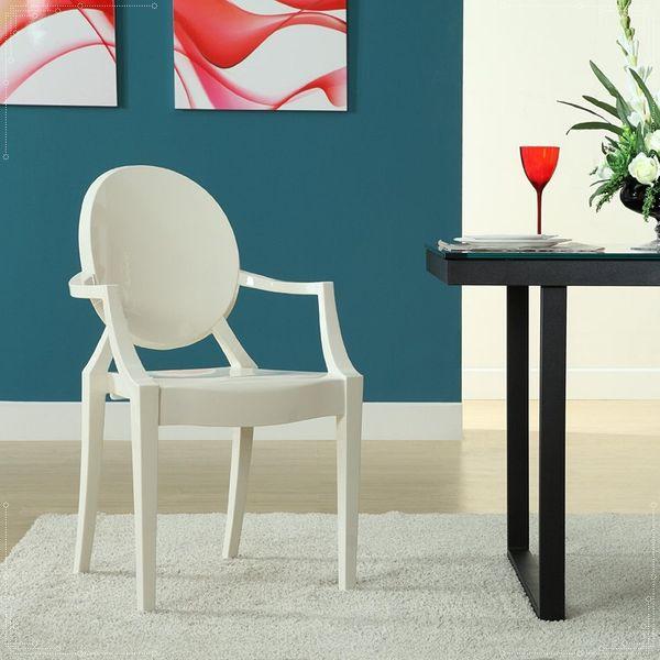 Krzesło Dankor Design Louis Ghost przezroczysty zdjęcie 3