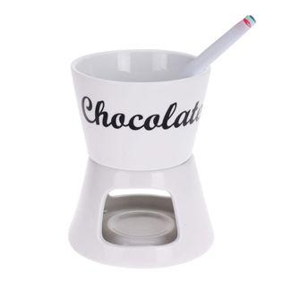Zestaw Fondue Ceramiczne + Widelczyki Eh Excellent Houseware