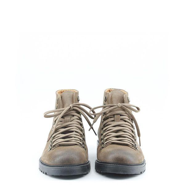 68ddd0a447df7 Made in Italia skórzane buty męskie za kostkę sztyblety brązowy 41 zdjęcie 3