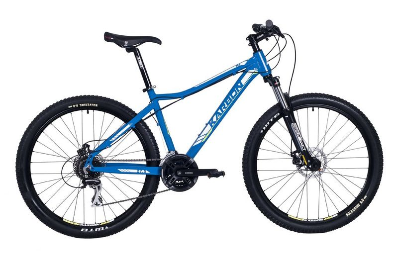 """Karbon Trail R4 27,5 niebiesko/zielono/biały 19"""" rower na Arena.pl"""
