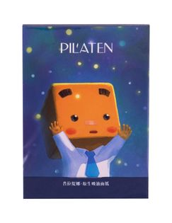 Pilaten Native Blotting Paper Chusteczki oczyszczające 101szt