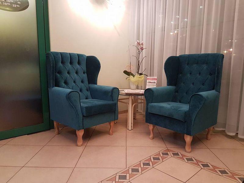 Fotel uszak pikowany ekoskóra Zara • Arena.pl 38290791f7