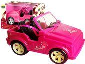 JEEP KABRIOLET RÓŻOWY Auto Lalek Barbie