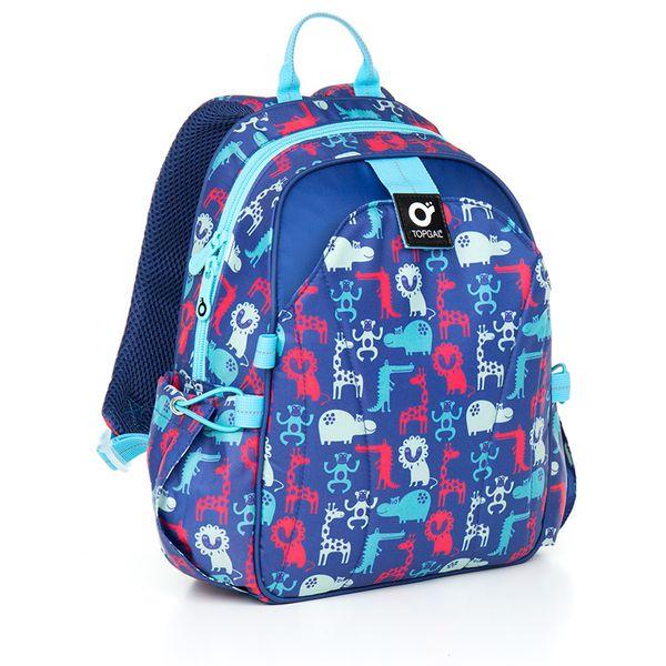 Plecak przedszkolny dla chłopca, zwierzątka CHI 839 zdjęcie 1