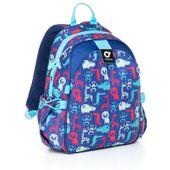 Plecak przedszkolny dla chłopca, zwierzątka CHI 839