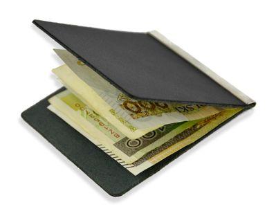 Etui na BANKNOTY Skóra 100% BANKNOTÓWKA Portfel