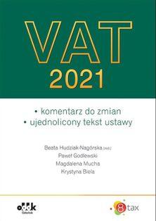 VAT 2021 Hudziak-Nagórska Beata, Godlewski Paweł, Mucha Magdalena, Biela Krystyna
