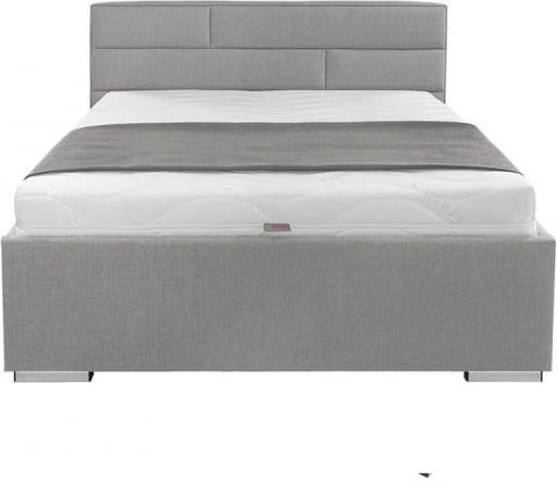 łóżko Tapicerowane 120x200cm Szare Kate Brw
