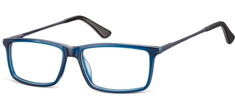 Korekcyjne oprawki okularowe damskie męskie granat zdjęcie 1