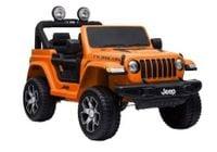 Auto Na Akumulator Jeep Wrangler Rubicon Pomarańcz