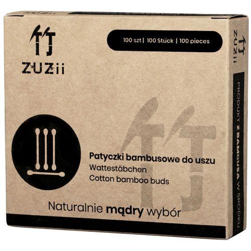 Bambusowe patyczki kosmetyczne do uszu - 100sztuk - Zuzii na Arena.pl