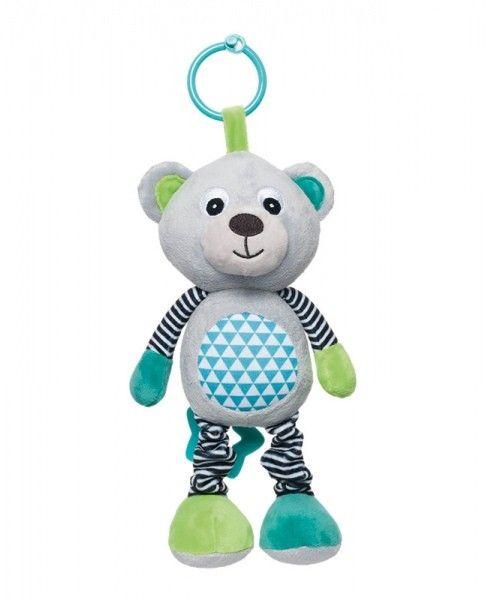 Canpol Pluszowa zabawka z pozytywką Bears szara zdjęcie 1