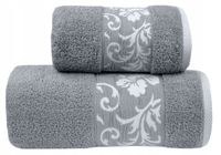 Ręcznik Glamour 70x140 Jasny Popiel Greno