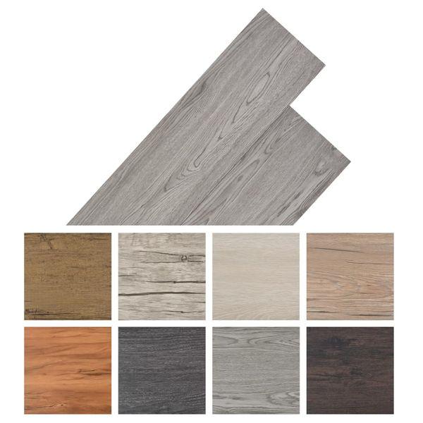 Panele podłogowe z PVC, 5,26 m², ciemnoszare na Arena.pl