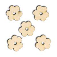 SD525 Scrapki kwiatek bratek 5 szt.