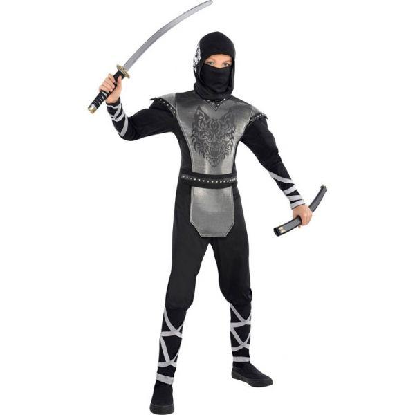 Strój dla dzieci Wilczy Ninja 12/14 lat zdjęcie 1