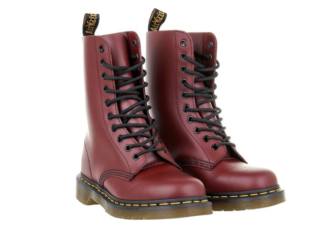 Dr. Martens Cherry Red Smooth 1490 -10092600 - 41 zdjęcie 7