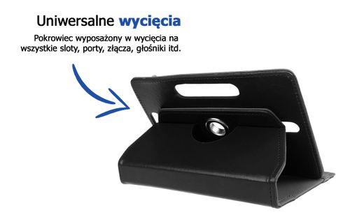 etui obrotowe uniwersalne pokrowiec na tablet 9.6 10 cali ochrona na Arena.pl