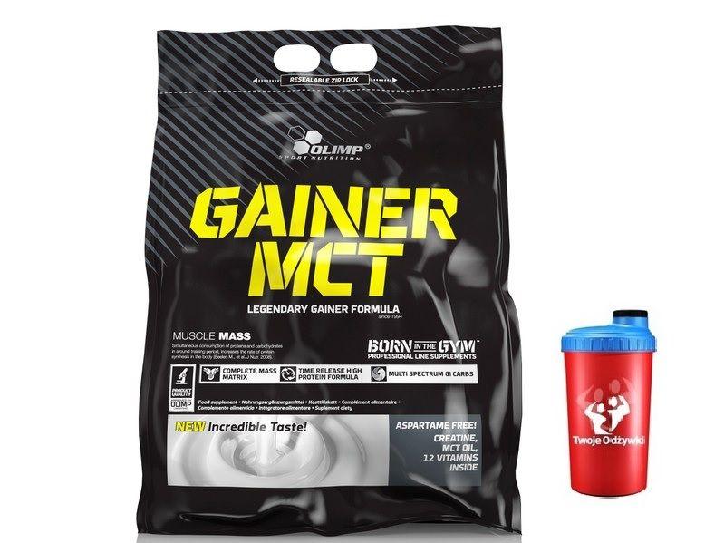 OLIMP GAINER MCT MUTANT 6,8kg GAINER + SHAKER zdjęcie 1