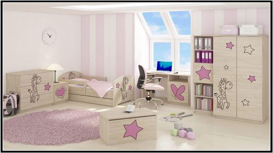 Meble dziecięce BABY BOO łóżko 140x70 6 elementów WZORY !