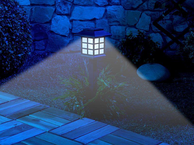 """Lampy ogrodowe solarne 6 sztuk Lunartec """"Asian"""" zdjęcie 7"""