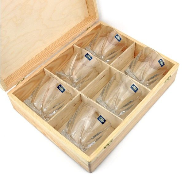 Zestaw 6 szklanek do whisky na PREZENT ŚLUB WESELE zdjęcie 3