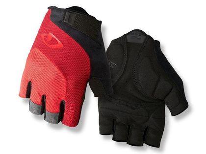 Rękawiczki męskie GIRO BRAVO GEL krótki palec bright red roz. XXL (obwód dłoni od 267 mm / dł. dłoni od 211 mm) (NEW)