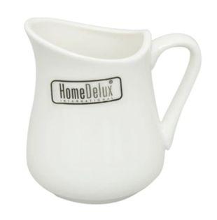 Mlecznik porcelanowy biały dzbanek dzbanuszek do mleka śmietanki 360 ml TEAR HomeDelux