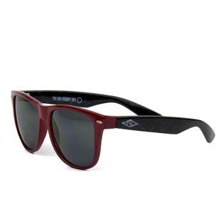 Okulary przeciwsłoneczne Wayfarer Burgund rajbanki