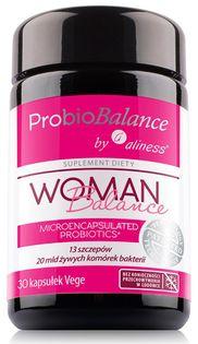 ProbioBALANCE, Woman Balance 20 mld. x 30 vege caps. Aliness