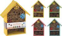 Lumarko domek dla owadów drewniany 4 rodzaje clr