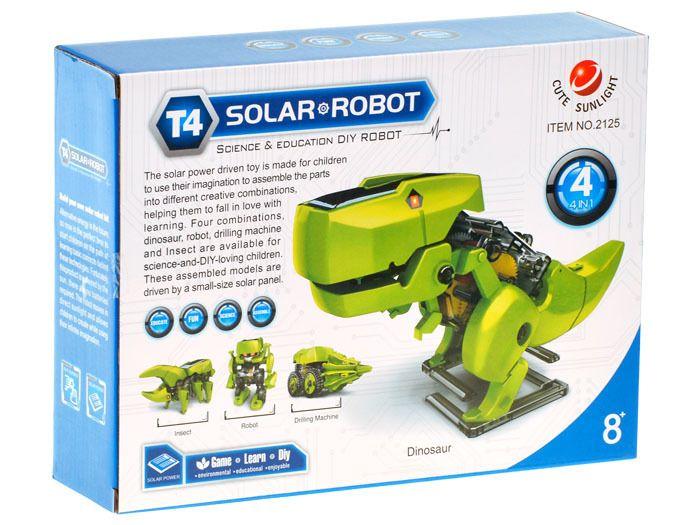 Solarny Dinozaur 4w1 Zabawka edukacyjna ZA1082 zdjęcie 6