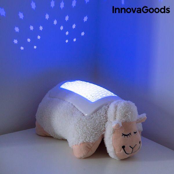 Przytulanka Owieczka z Projektorem LED InnovaGoods zdjęcie 6